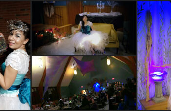 Enchanted forest ball with Devine